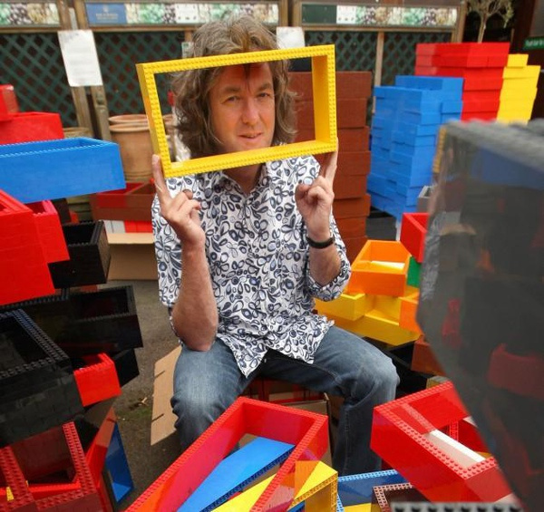 james may lego house at James May   Biography