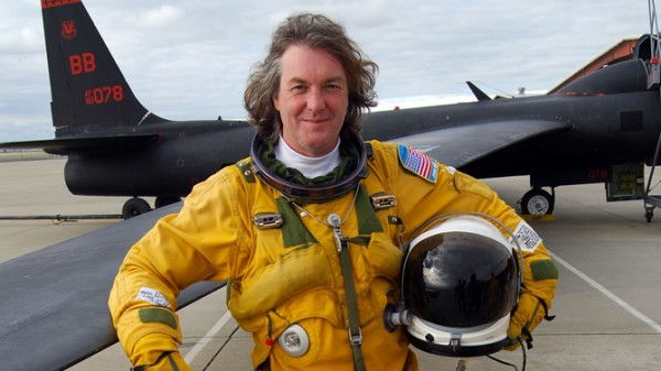 james may on the moon 600x337 at James May   Biography