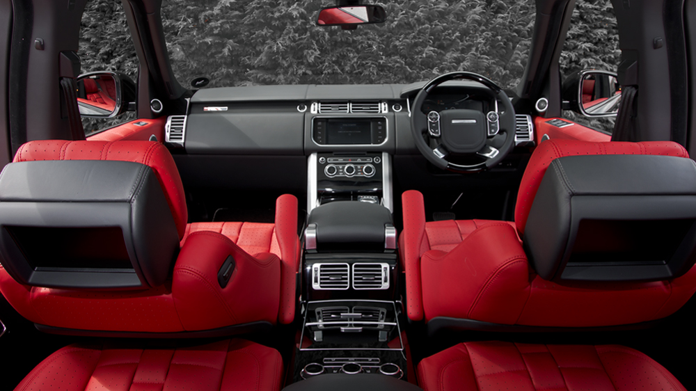 Kahn Design Offers New Range Rover Grille And Interior Package