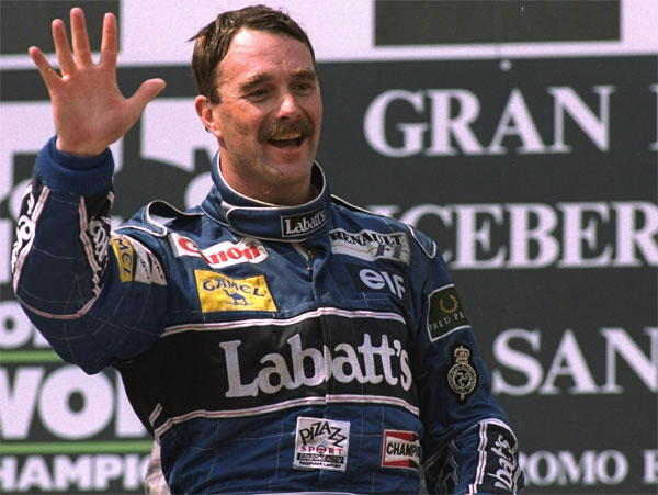 nigel mansell at Top 10 Formula One drivers with Highest Winning Percentage
