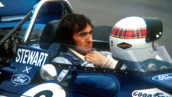 sir jackie stewart at Top 10 Formula One drivers with Highest Winning Percentage