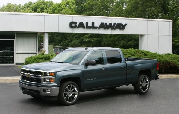 2014 Callaway Silverado and Sierra at 2014 Callaway Silverado and Sierra Announced