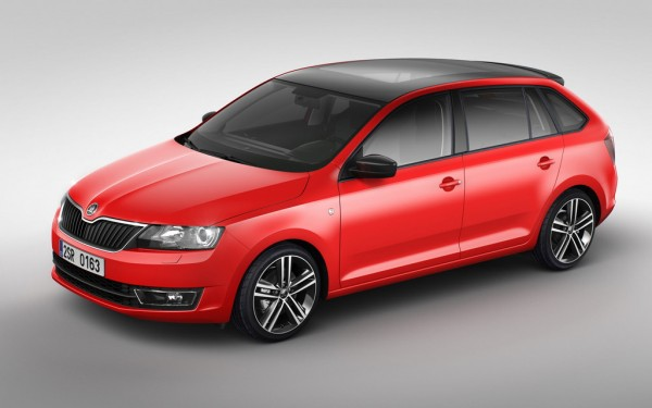 2014 Skoda Rapid Spaceback 1 600x375 at 2014 Skoda Rapid Spaceback Unveiled