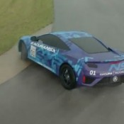 Acura NSX Track Video 175x175 at Acura NSX Prototype In Sideways Action   Sounds Angry!