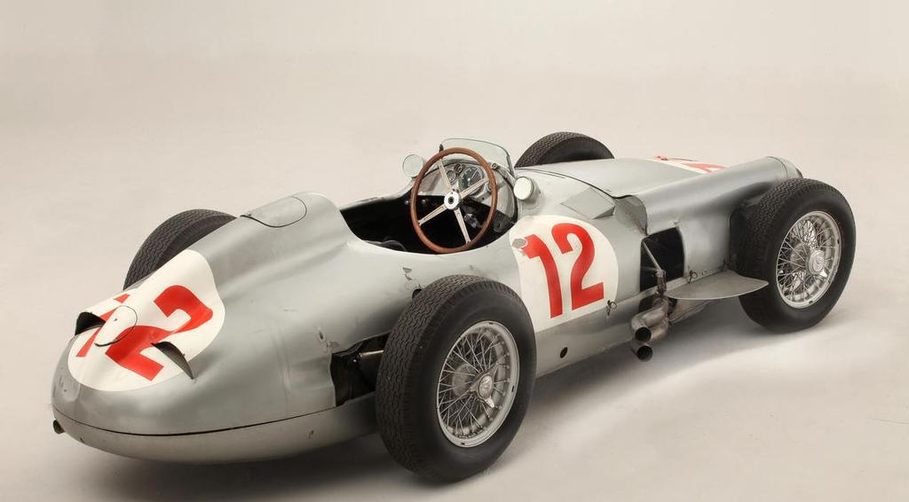 Fangio S 1954 Mercedes F1 Car Auctioned For 29 6 Million