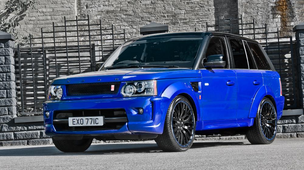 Imperial Blue Range Rover Sport Rs300 By Kahn Design