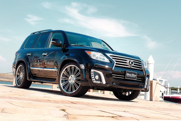 Lexus LX 570 Wald 1 600x400 at 2013 Lexus LX Black Bison by Wald International