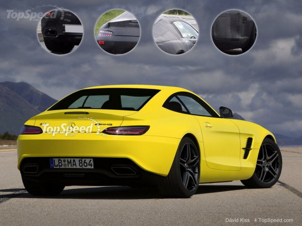 Mercedes SLC AMG render 2 600x450 at Rendering: Mercedes SLC AMG