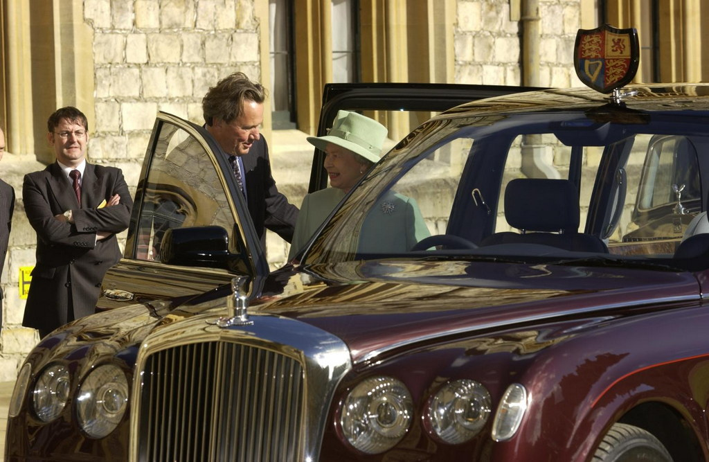 Royal Bentley Goes On Display In Buckingham Palace
