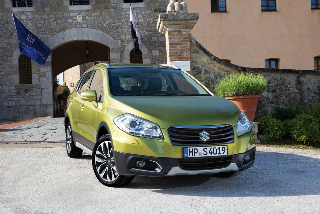 SX4 S Cross 1 at Suzuki SX4 S Cross Priced From £14,999 In The UK