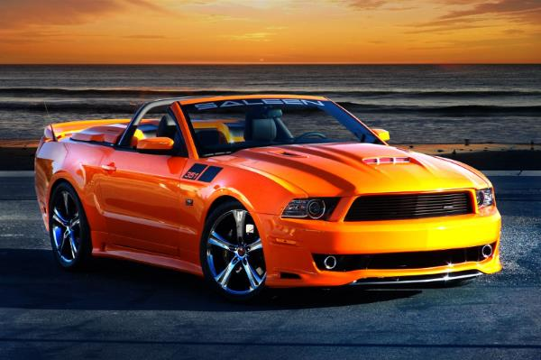 Saleen 351 Mustang at 700 hp Saleen 351 Mustang Announced