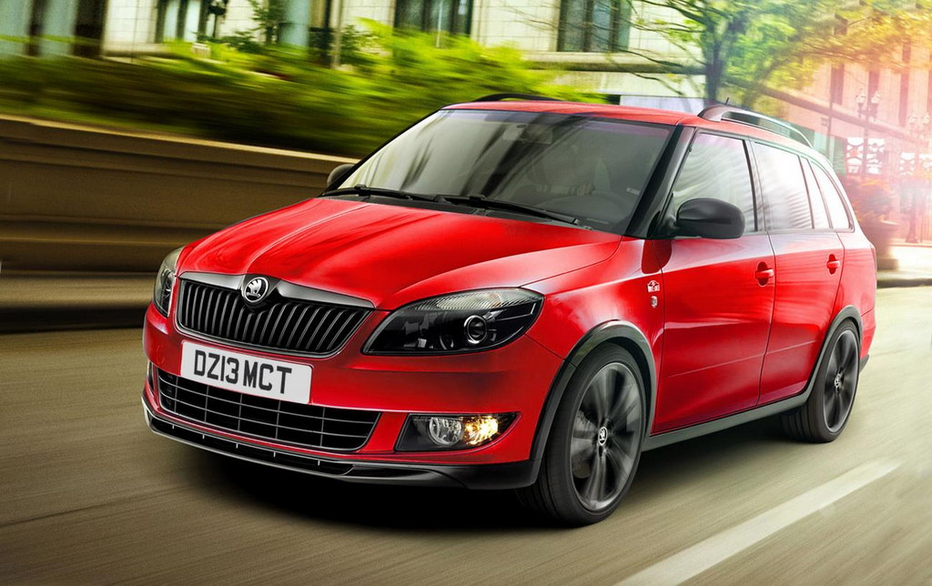 skoda fabia reaction and monte carlo tech revealed. Black Bedroom Furniture Sets. Home Design Ideas