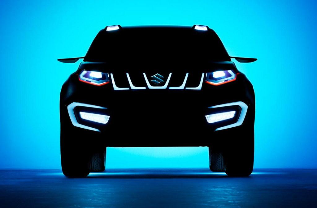 Suzuki iV 4 1 at IAA Preview: Suzuki iV 4 Crossover Concept
