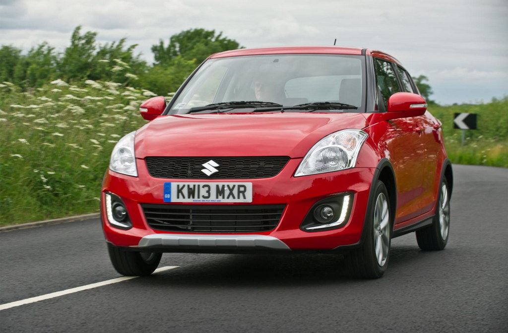 Swift 4x4 1 at Suzuki Swift 4x4 Announced For The UK Market