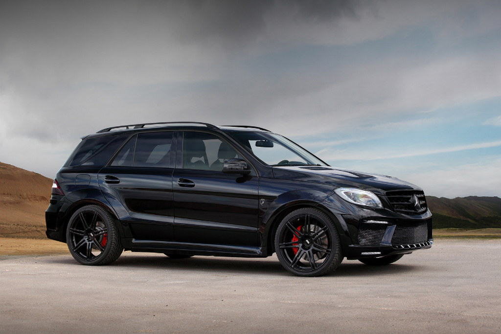 Topcar presents mercedes ml63 amg inferno black for Mercedes benz amg ml63