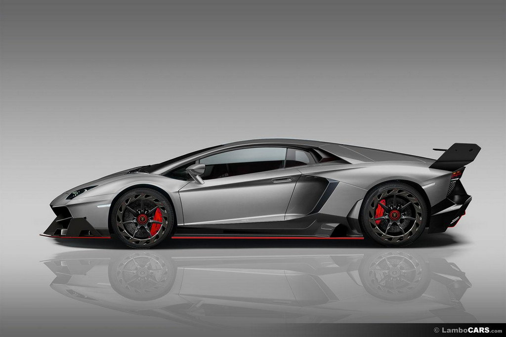 Renderings Veneno Style Body Kit For Lamborghini Aventador