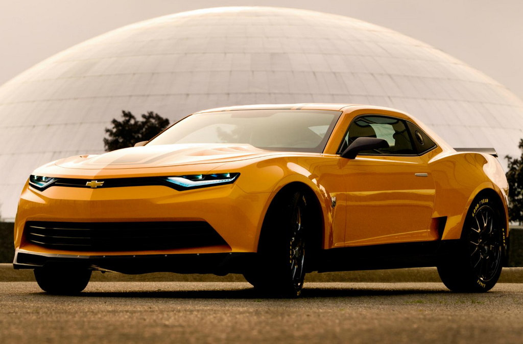 Camaro Bumblebee Concept From Transformers 4 Revealed