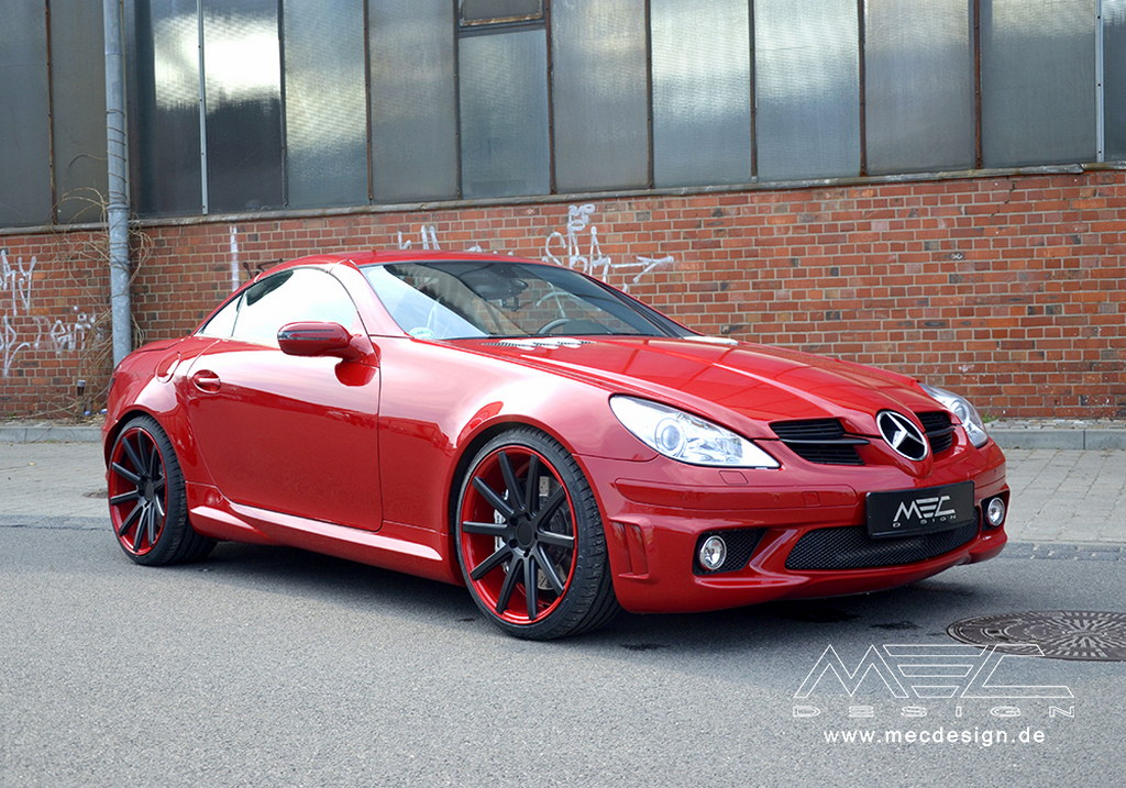 mercedes slk 55 amg r171 tweaked by mec design. Black Bedroom Furniture Sets. Home Design Ideas