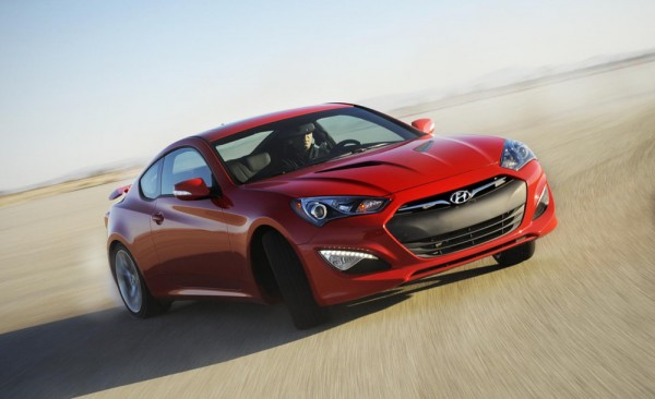 2013 Genesis Coupe 600x366 at Hyundai Genesis Coupe Joins Skip Barber Fleet