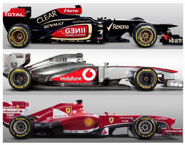2013 lotus mclaren ferrari at Formula 1 teams with longest consecutive point scoring