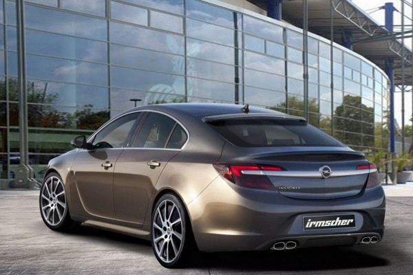 2014 Opel Insignia Irmscher 2 600x400 at Preview: 2014 Opel Insignia by Irmscher