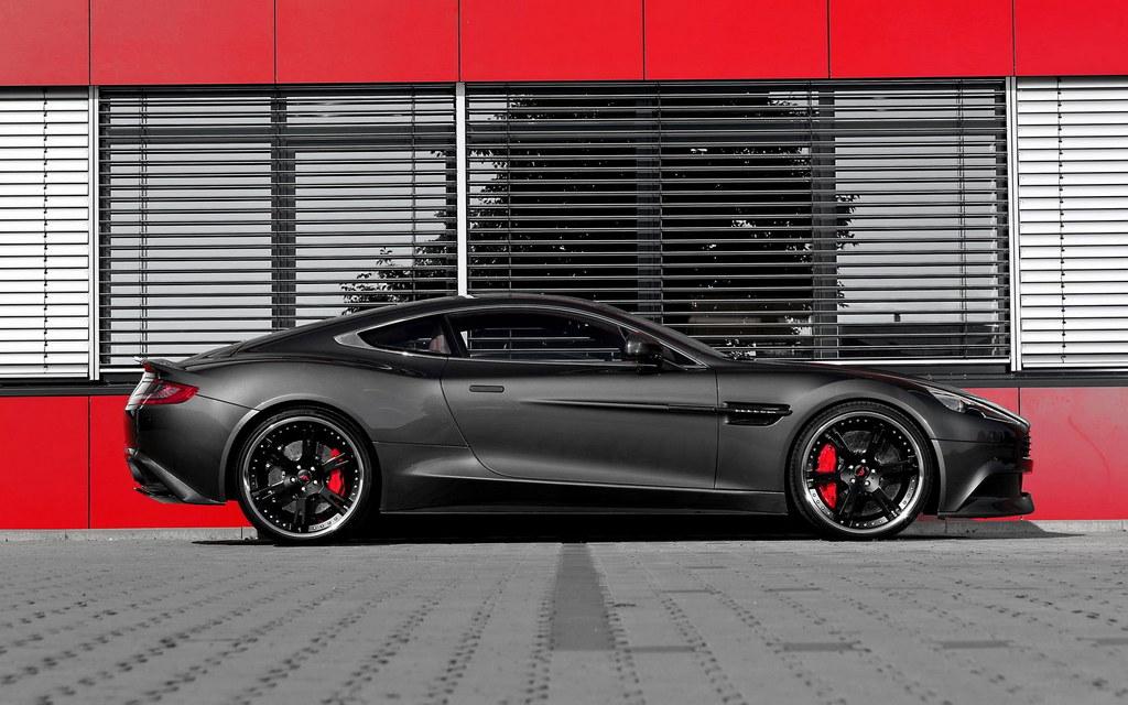 Aston Martin Vanquish Tweaked By Wheelsandmore