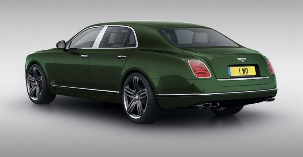 Bentley Mulsanne Le Mans Edition 2 600x311 at Pebble Beach 2013: Bentley Mulsanne Le Mans Edition