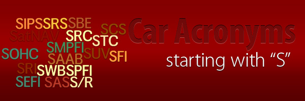 Car Acronyms S at Car Acronyms S