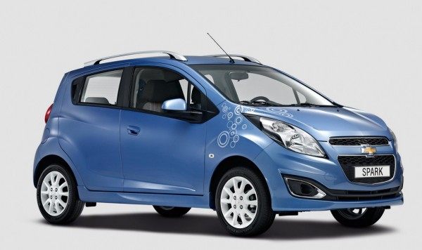 Chevrolet Spark Bubble 600x356 at Chevrolet Spark Bubble Edition Announced