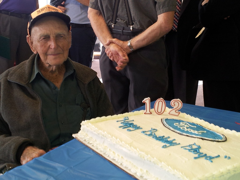 102 Year Old Man Named Honorary Ford Trucks President