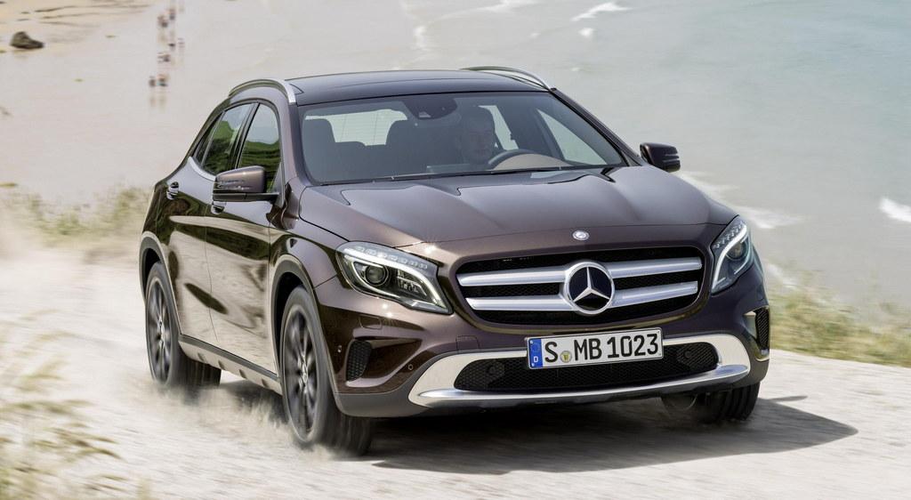2014 Mercedes Gla Official Details
