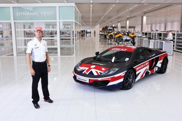 GREAT 12C 600x400 at New McLaren GREAT 12C Unveiled by Jenson Button