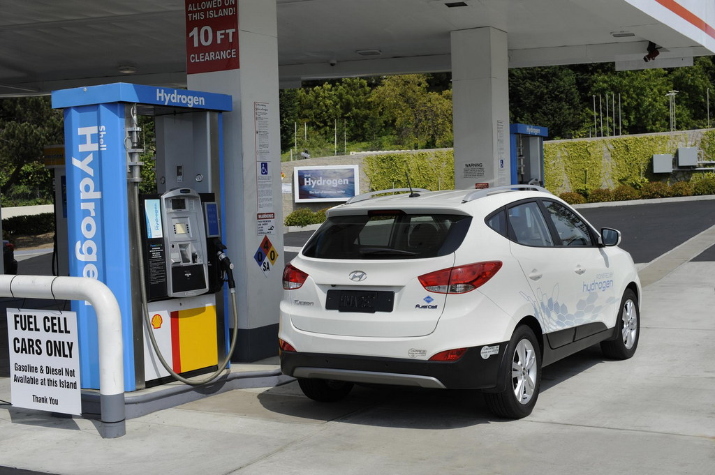 Hydrogen Fueling Station in