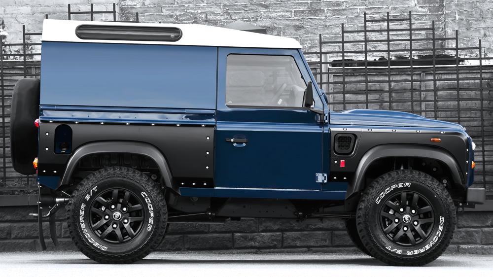 land rover defender wide track by kahn expedition vehicles. Black Bedroom Furniture Sets. Home Design Ideas