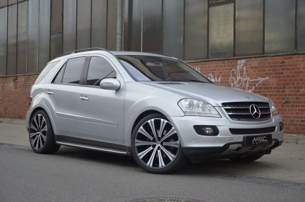 MEC Design W164 ML500 mit Condeni Ultimo 10x22 23 600x397 at Mercedes ML500 W164 Upgraded by MEC Design