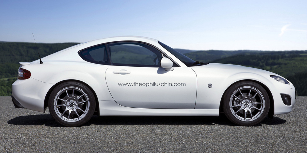 Rendering: Mazda MX-5 Coupe - Motorward
