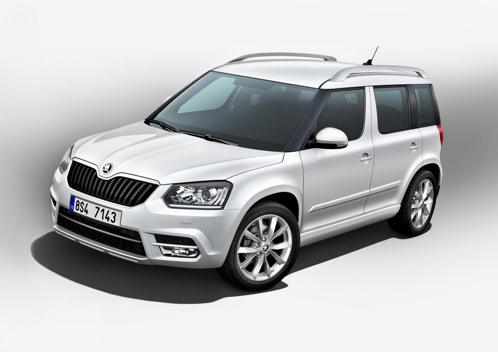 new skoda yeti officially revealed. Black Bedroom Furniture Sets. Home Design Ideas