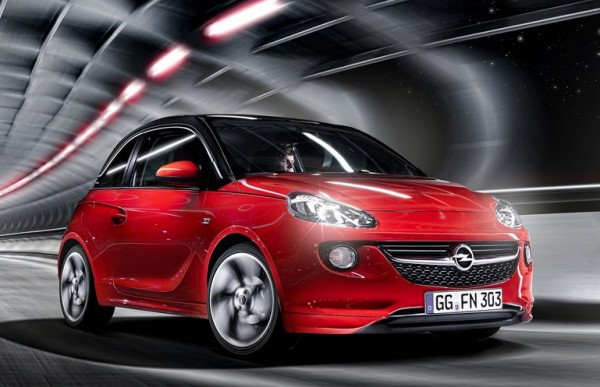 Opel Adam 1 600x387 at Opel Unveils Its New 1.0 Liter Three Cylinder Turbo Engine