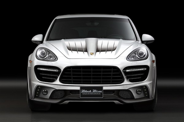 Porsche Cayenne Black Bison 600x400 at Wald Goes Wild With Porsche Cayenne Black Bison
