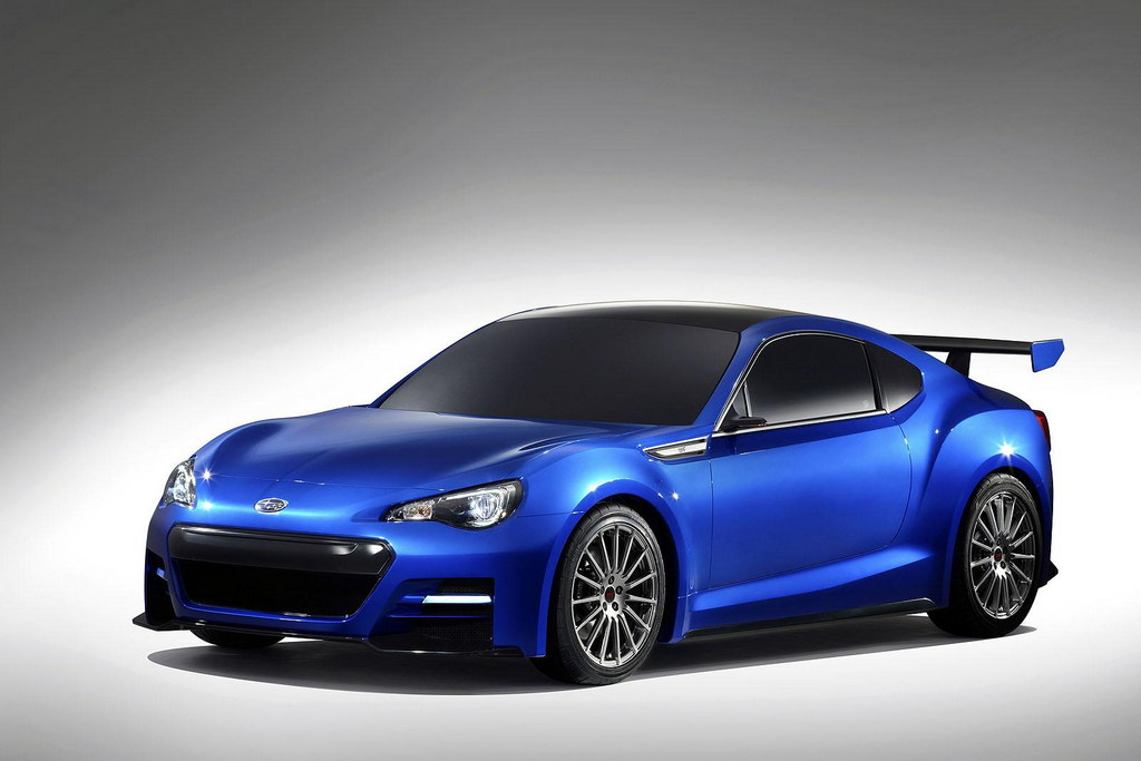 Subaru Brz Ts Officially Unveiled