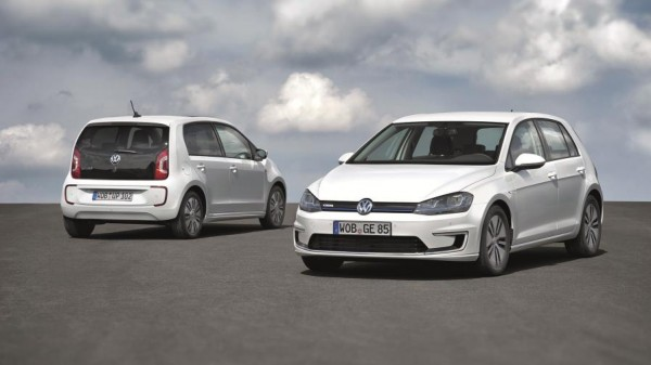 Volkswagen e Golf and e up 2 600x337 at Volkswagen e Golf and e up! Set For IAA Debut