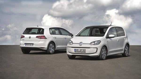 Volkswagen e Golf and e up 3 600x337 at Volkswagen e Golf and e up! Set For IAA Debut