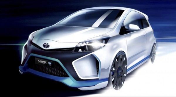 Yaris Hybrid R Concept 1 600x332 at Toyota Yaris Hybrid R Concept Technical Details