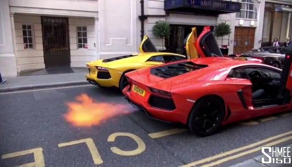 aventador flamethrower 600x343 at This Is Why London Police Is Seizing Aventadors!