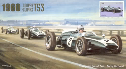 cooper f1 at Formula 1 teams with longest consecutive point scoring