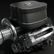 mercedes 2014 v6 f1 engine 175x175 at Mercedes AMG V6 Turbo F1 Engine Virtually Laps Monza
