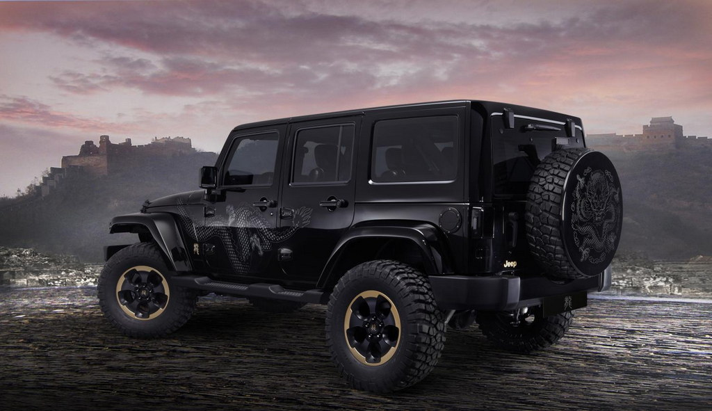jeep rubicon 2014 black. 2014 jeep wrangler dragon edition 2 600x346 at unveiled rubicon black v
