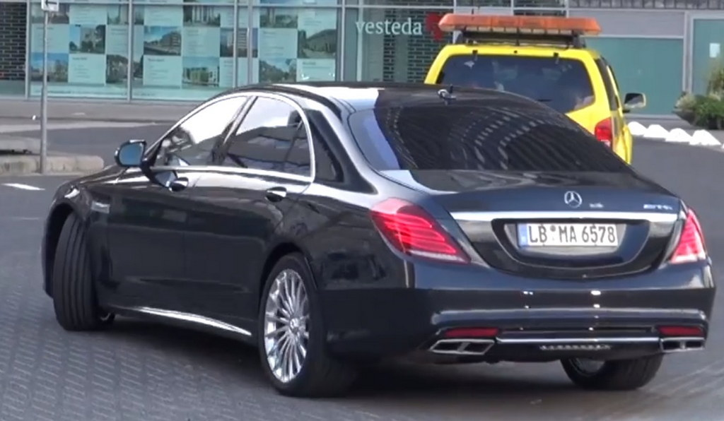 2014 Mercedes S65 AMG: First Pictures - Motorward
