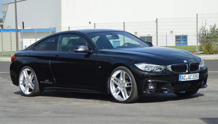 Bmw 4 Series Black ac Schnitzer Bmw 4 Series 1