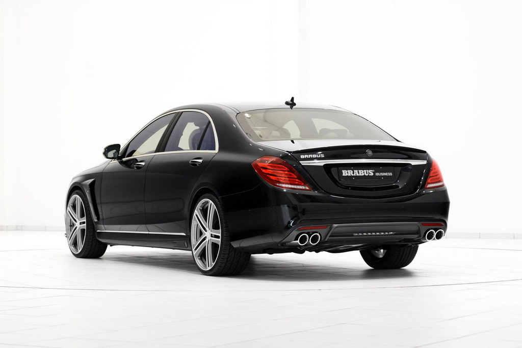 Brabus mercedes s63 amg 850 ibusiness revealed for Mercedes benz 850